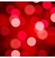 Defocused abstract red background vector image