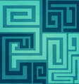 blue spiral seamless pattern vector image vector image