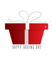 boxing day graphic design vector image