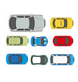 cars transport or automobile vehicles flat vector image vector image