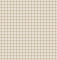 diagonal beige seamless fabric texture pattern vector image vector image