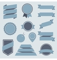Stickers and Badges Set 8 Flat Style vector image vector image