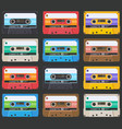 cassette-pattern-02 vector image