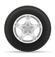 car wheel 02 vector image