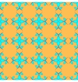 Flowers geometric seamless pattern 2203 vector image
