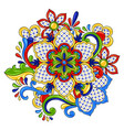 mexican traditional decorative object vector image