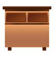 nightstand icon cartoon style vector image vector image