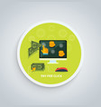Pay Per Click Internet Advertising Model Concept vector image