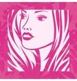 Beautiful Fashion Girl vector image vector image