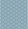 Gray decorative pattern vector image