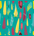 seamless pattern with different graphic vector image