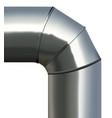 steel texture round tube vector image
