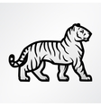 Tiger logo Mascot design template Shop or vector image vector image