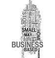 young entrepreneur text word cloud concept vector image vector image