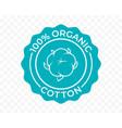 cotton 100 organic eco icon and bio natural logo