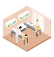 Massage Room Isometric vector image vector image