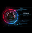 speed motion line abstract tech background vector image