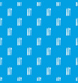 stationery pattern seamless blue vector image vector image