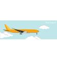 Air cargo vector image vector image