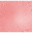 background wave grid 31 01 vector image vector image
