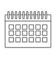 calendar business agenda vector image vector image