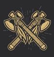 camping vintage axe adventure outdoor logo 23