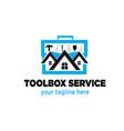 home service logo designs vector image