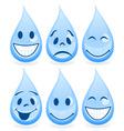 smile a drop vector image vector image