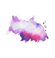 abstract hand painted watercolor texture vector image vector image