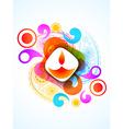 colorful diwali festival vector image vector image