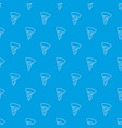 pizza pattern seamless blue vector image vector image