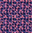 quatrefoil colorful geometric background purple vector image