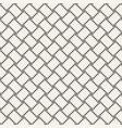 trendy monochrome twill weave lattice abstract vector image vector image
