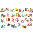 Animals alphabet vector | Price: 3 Credits (USD $3)
