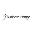 Business name vector image vector image