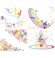color notes set vector image vector image