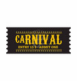 happy brazilian carnival day beautiful black vector image vector image