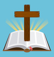 holi bible vector image vector image