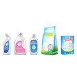 household chemicals of toilet vector image vector image