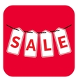 Sale four letter vector image