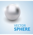 sphere abstract with text vector image