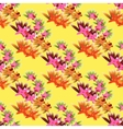 tropical seamless background vector image vector image
