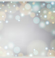 white blur abstract background with light in vector image vector image