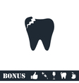 Dental Problem icon flat vector image