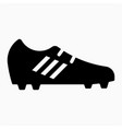 football shoes icon vector image