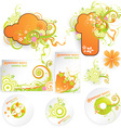 Fresh Summer Set For Business vector image vector image