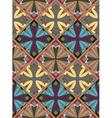 Medieval Cross Tile Pattern vector image vector image