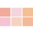 Patterned Background Set vector image vector image
