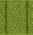 seamless cable stitch pattern vector image vector image