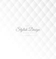 stylish white pattern design vector image vector image